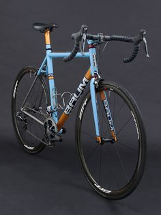 GTX, Duck egg blue, Chrome Orange, Deep Crystal Blue, Corretto by Baum Cycles || via Flickr