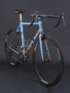 GTX, Duck egg blue, Chrome Orange, Deep Crystal Blue, Corretto by Baum Cycles || via Flickr