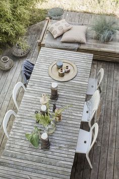 Reportage i tidningen Lantliv - Lovely Life Outdoor Beds, Outdoor Life, Outdoor Spaces, Outdoor Gardens, Outdoor Living, Porch And Balcony, Balcony Plants, Small Balcony Design, Rustic Pergola