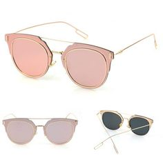 96950aa08f8 Trendy Mirrored Sunglasses - 4 colors - Awesome World - Online Store - 8  Spy Sunglasses
