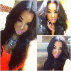 Omg love da hair