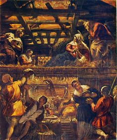 Tintoretto adorazione pastori