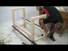 Alan Holtham shows you how to build a classic woodworking bench using just a few power and hand tools. This is the first in the 'Build it with Bosch' Project...