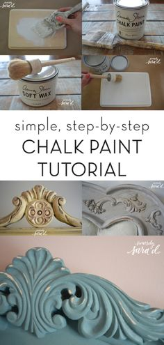 Chalk Paint Tutorial is part of Chalk paint tutorial - wood Painting Tutorial Annie Sloan Chalk Paint Tutorial Chalk Paint Projects, Chalk Paint Furniture, Furniture Projects, Furniture Makeover, Diy Furniture, Diy Projects, Chalk Paint Diy, Furniture Refinishing, Painting With Chalk Paint
