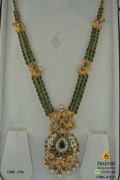 Gold Jewelry For Men Product Bridal Jewelry, Beaded Jewelry, Gold Jewelry Simple, Simple Necklace, Indian Jewelry Sets, Emerald Jewelry, Emerald Necklace, Jewelry Model, Gold Jewellery Design