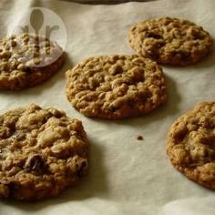 Soft oatmeal cookies @ allrecipes.co.uk
