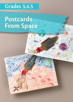 Learn about space with this learning activity that uses both science and language arts! | elementary lesson plan