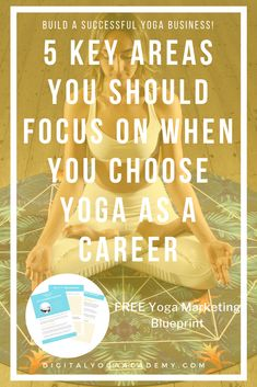 When you choose yoga as a career things can become overwhelming. Get focused with these 5 key areas that are crucial for a successful online yoga business. Iyengar Yoga, Ashtanga Yoga, Vinyasa Yoga, Pilates Reformer Exercises, Pilates Yoga, Online Yoga, Free Yoga, Yoga Teacher Training, Yin Yoga