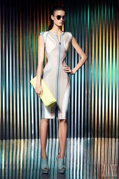 Hervé Léger by Max Azria - Prêt-à-porter - Resort 2014 - http://www.flip-zone.com/fashion/ready-to-wear/fashion-houses-42/herve-leger-3939