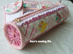Sam's sewing life: cylinder Patchwork Pencil