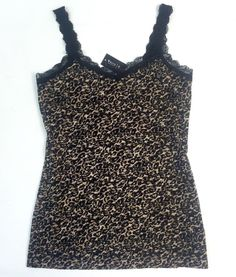 White House Black Market Animal Print Leopard Cami XS | eBay