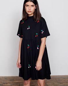 Lazy Oaf Pom Pom Cherry Dress