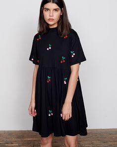 Lazy Oaf Pom Pom Cherry Dress