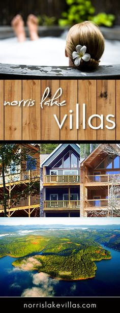 Norris Lake rentals let you experience lakeside luxury like never before. Explore exquisite waterfront villas ideal for your next relaxing retreat or lake vacation. Gaze out at the gorgeous Tennessee landscape as you soak in your very own private hot tub overlooking a perfect mountain view. Leave your worries at home and get wet with tons of water activities and fun on the lake that will have you coming back year after year. NorrisLakeVillas.com
