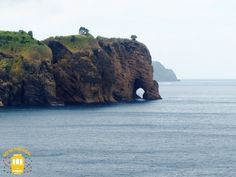 Tromba do Elefante viewpoint is one of the most unusual places in the island. The name comes from the cliff that looks like an elephant head with its trunk and big ears. Top 10 of the places to visit in the Azores (São Miguel Island) Azores, Beautiful Islands, Beautiful Places, Places In Portugal, Archipelago, Heaven On Earth, Travel Inspiration, Places To Visit, Landscape