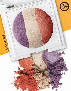 O Trio de Sombras Sunset Beach da linha marykayatplay™ tem as cores certas para uma combinação de arrasar!