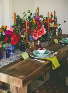 late summer tablescape. for those few weeks between summer and fall.