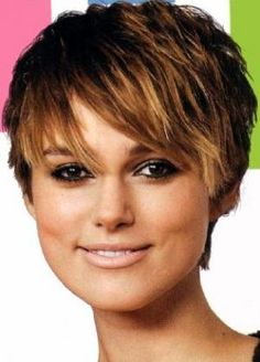 Short Hairstyles For Round Faces And Fine Hair | Celebrity Inspired ...