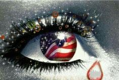 crying for America. Obama (along with his cronies) is ruining America. Never in the history of America has one man done so much damage to the country that I love! I Love America, God Bless America, My Champion, American Pride, American Flag, American Spirit, Native American, Eye Art, Cool Eyes