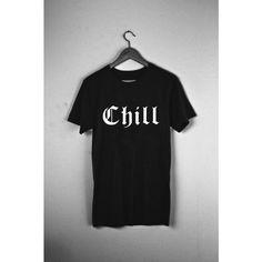 Monster Aesthetics - Chill - Tee  #chill