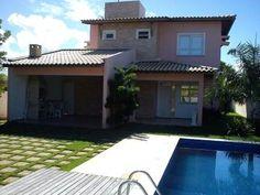 Casa Com 4 Suites Em Guarajuba - Casa com 500m2 em condominio fechado  próximo de belas praias do Litoral Norte e Linha  Verde