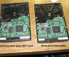 Hard Drive Recovery from a Full Stop