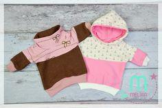 Puppen Missy - dolly Missy, Pulli/ Pullover / hoodie für die Puppe. PocketLegs und Mütze