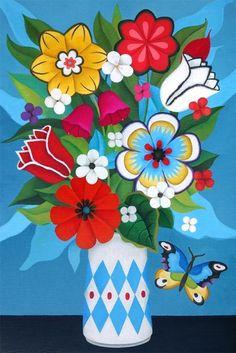 Yvonne Zomerdijk, Flower power