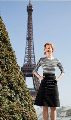 Love it ! / lovely dress in Paris !