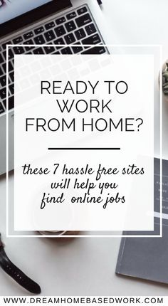 If you desire to work online, you'll need to find your jobs online via the top websites that provide regular leads for remote work. Here are 7 hassle-free job search sites to consider. Online Jobs From Home, Home Jobs, Online Work, Home Based Work, Work From Home Tips, Work From Home Opportunities, Business Opportunities, Business Ideas, Business Inspiration