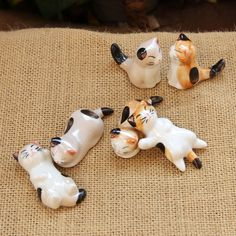 zakka ceramic creative home Japanese cute kitty cat chopstick chopsticks prop ornaments Ikea Tableware-ZZKKO