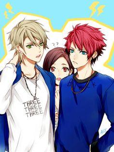 Kazunari, Taichi & Izumi