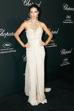 Adriana Lima attends a Chopard event during the Cannes Film Festival in France on May 19, 2014.Like us on Facebook?