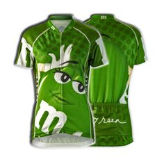 5afa72d2e M amp M s Candy Cycling Jersey Women s Green Short Sleeve Brainstorm Gear  Bicycle  BrainstormGear