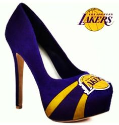 Lakers pumps :) Love em, want em!