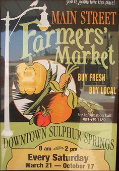 vintage metal farmers market signs | Farmers Market Sign Logos of farmers' markets