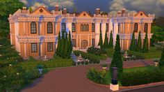 Chateau de Lorraine by trench at Mod The Sims via Sims 4 Updates