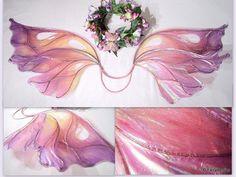 Custom Magical Sparkle Fairy Costume Wings Large Fairy Berries