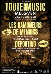 Festival ToutEnMusic, Melgven, Bretagne
