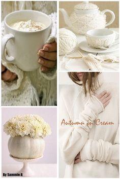 Autumn in Cream By Sammie R
