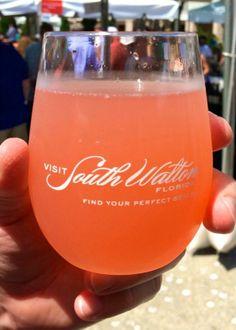 Pink Bikini cocktail: raspberry lemonade, coconut rum, amaretto liqueur