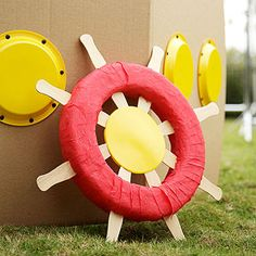 Nautical Birthday Party: How to Make a Steering Wheel (via Parents.com)