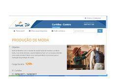 RBA Consulting Fashion Blog: Senac Curitiba - dois cursos novos em 19/6 !
