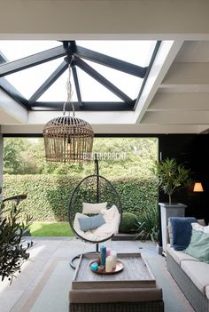 Garden Room, Home Room Design, House Design, Garden Room Extensions, Outdoor Rooms, Brick House Plans, Apartment Bedroom Decor, Home Decor, Skylight Design