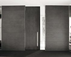 FC # porta entrada casa de correr # Sliding door / in wood / lacquered / burglar-proof VELA Oikos-Synua