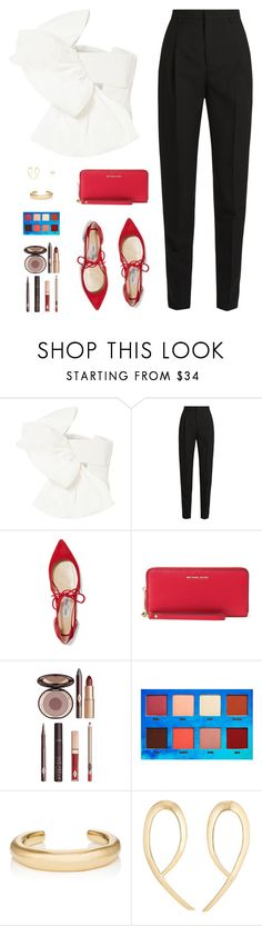 """Sin título #4588"" by mdmsb on Polyvore featuring moda, Maticevski, Yves Saint Laurent, Jimmy Choo, Charlotte Tilbury, Lime Crime y Jennifer Fisher"