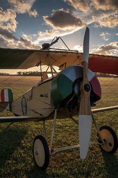 Nieuport 11 #biplane #WW1