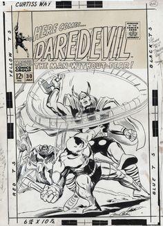 Daredevil #30, Cover Comic Art