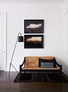 black interior styling elements