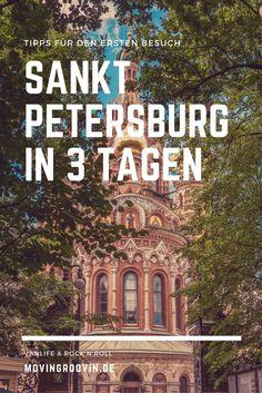 St. Petersburg, Russland - eine ganz besondere Städtereise! Komm mit ins Museum, auf die Dächer der Stadt, auf eine Bootstour und vieles mehr. Was du alles in 3 Tagen in St. Petersburg machen kannst, erfährst du hier!